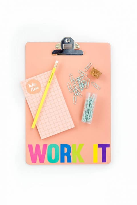 DIY Back to School Clipboard