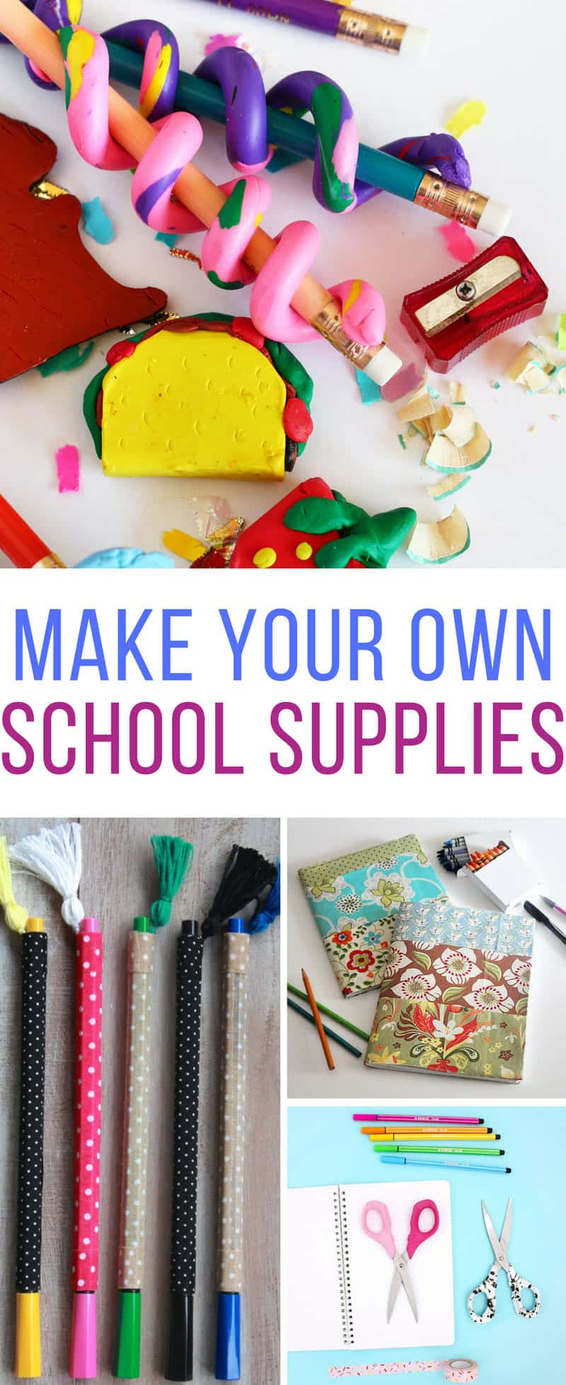 Loving these DIY back to school supplies! Thanks for sharing!