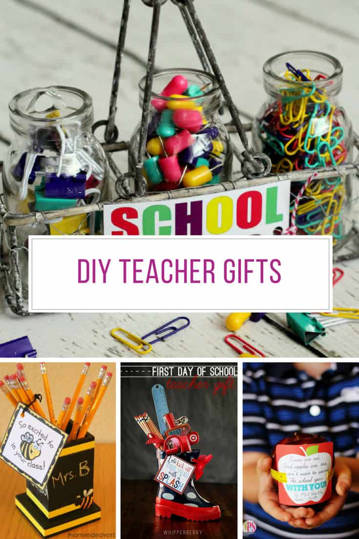 Loving these DIY teacher gift ideas!