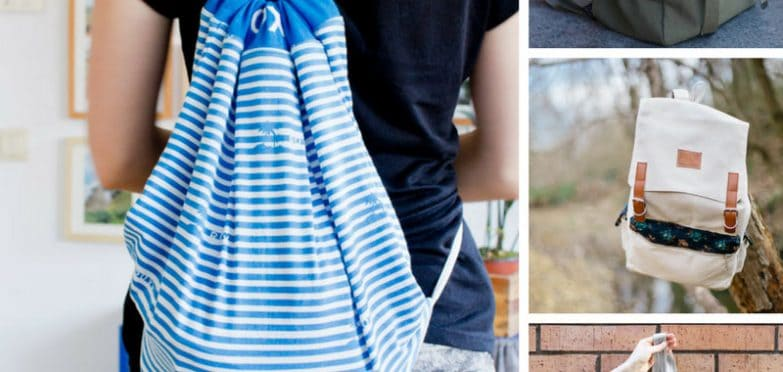 Loving these DIY backpacks - especially the one made from an old shirt! Thanks for sharing!