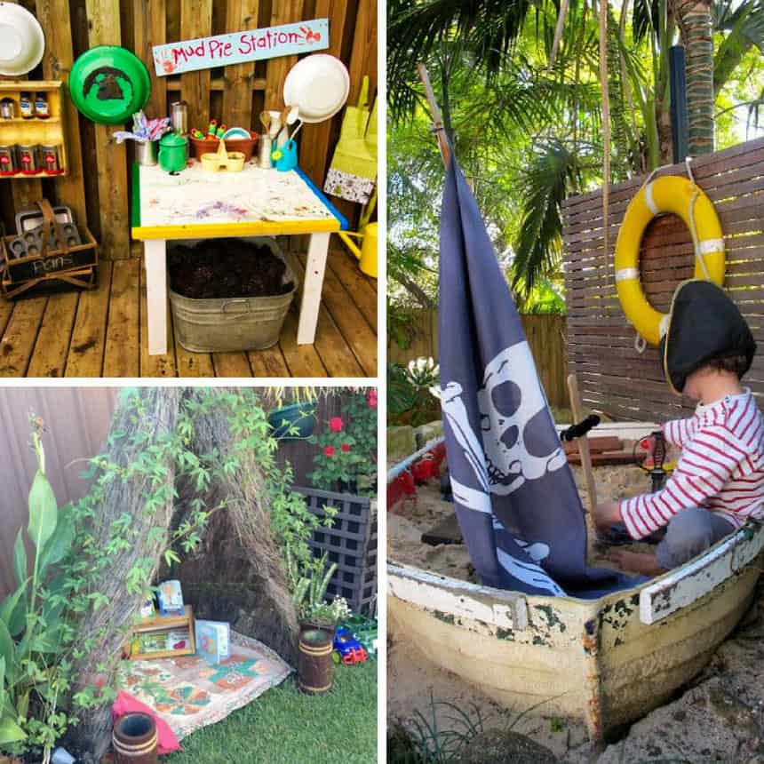 DIY Backyard Ideas for Kids Playground