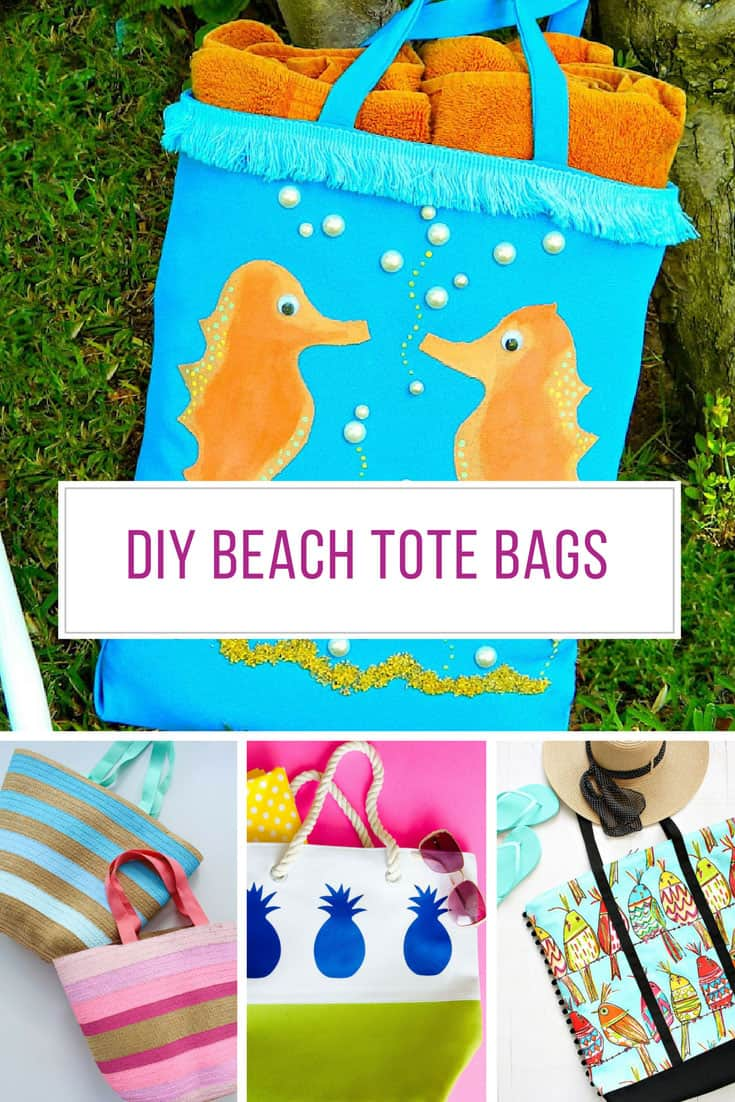 Loving these DIY beach tote bag ideas! Thanks for sharing!