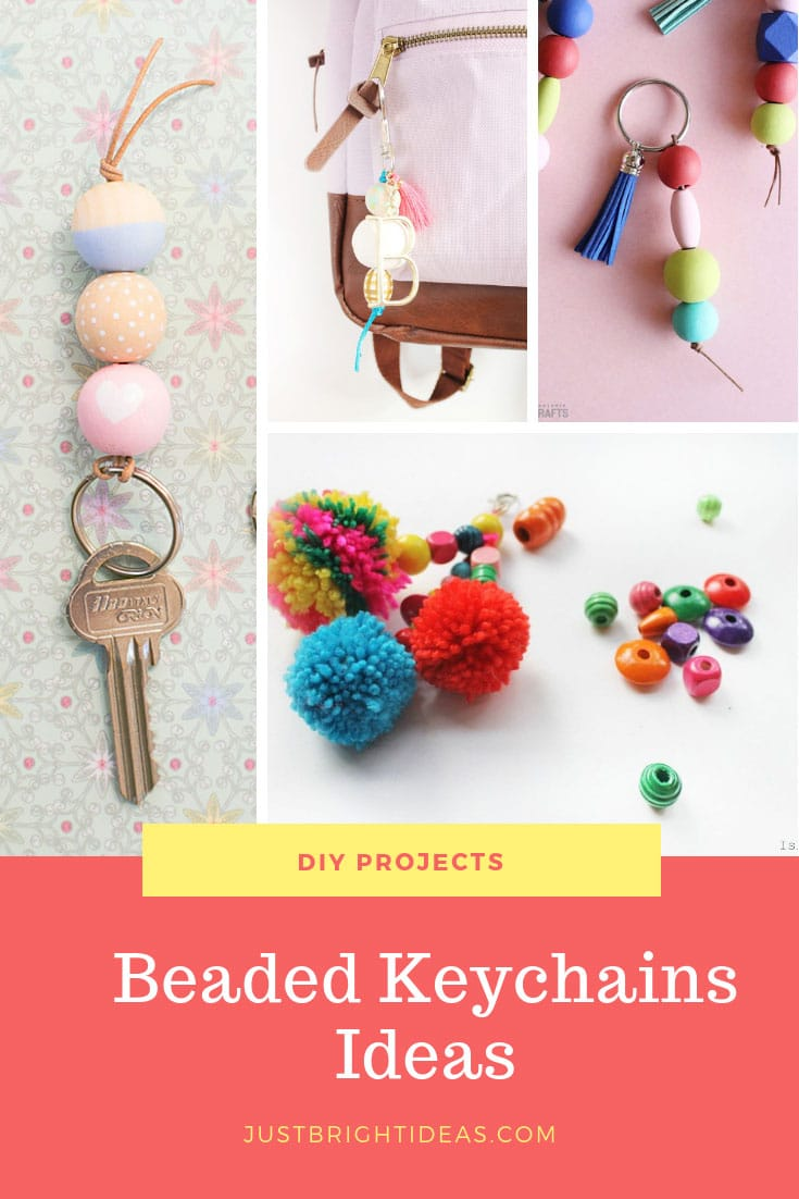 DIY Beaded Keychain Ideas and Projects