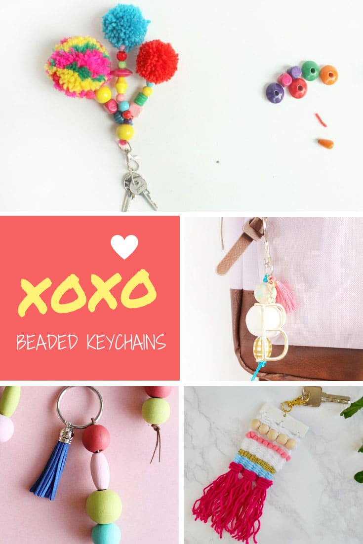 DIY Beaded Keychains