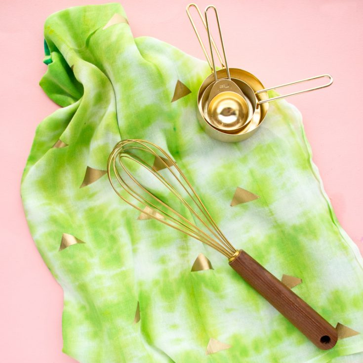 DIY Cactus Inspired Kitchen Towels