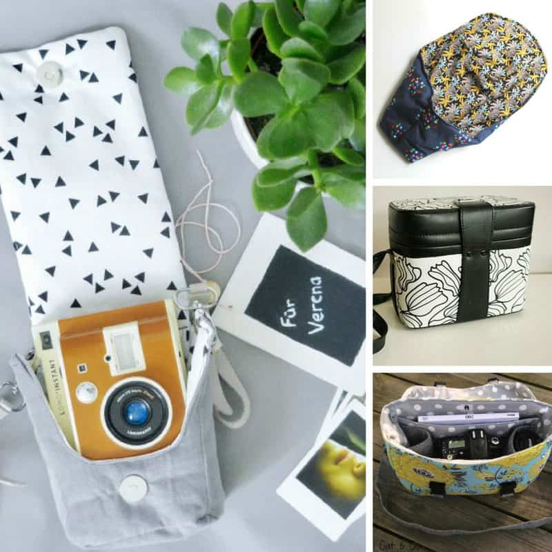 These DIY camera cases are gorgeous!
