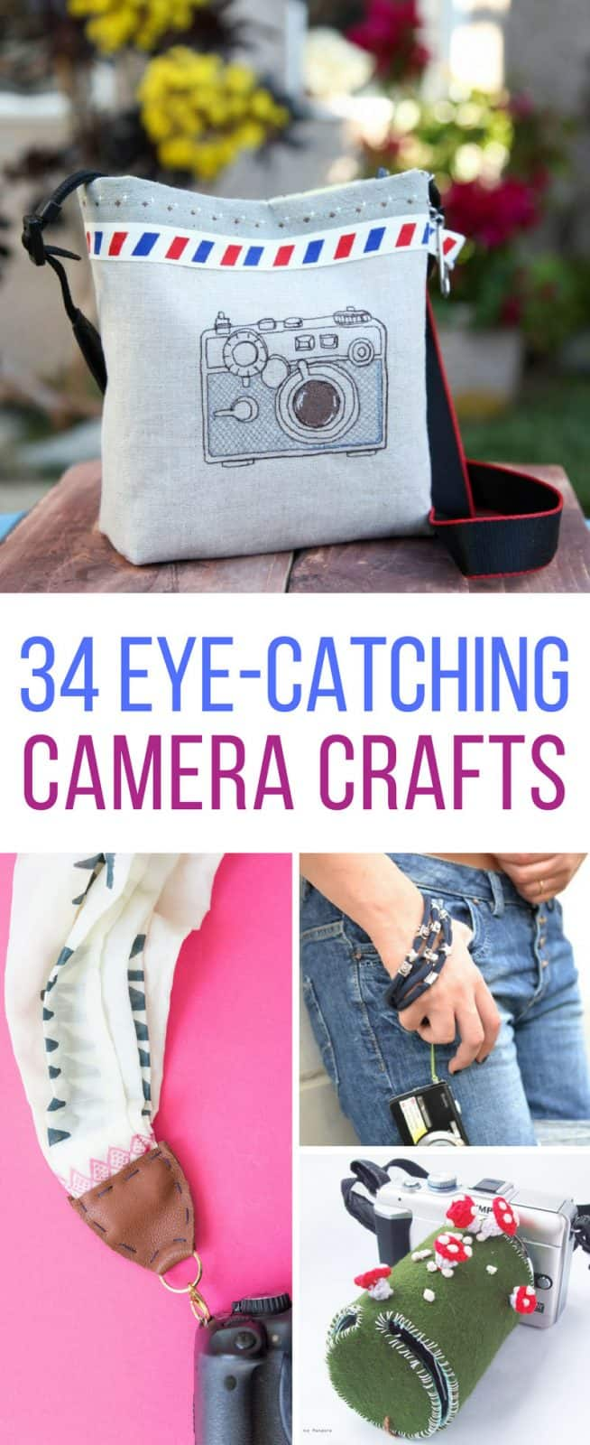 Loving these DIY camera cases and straps! Thanks for sharing!