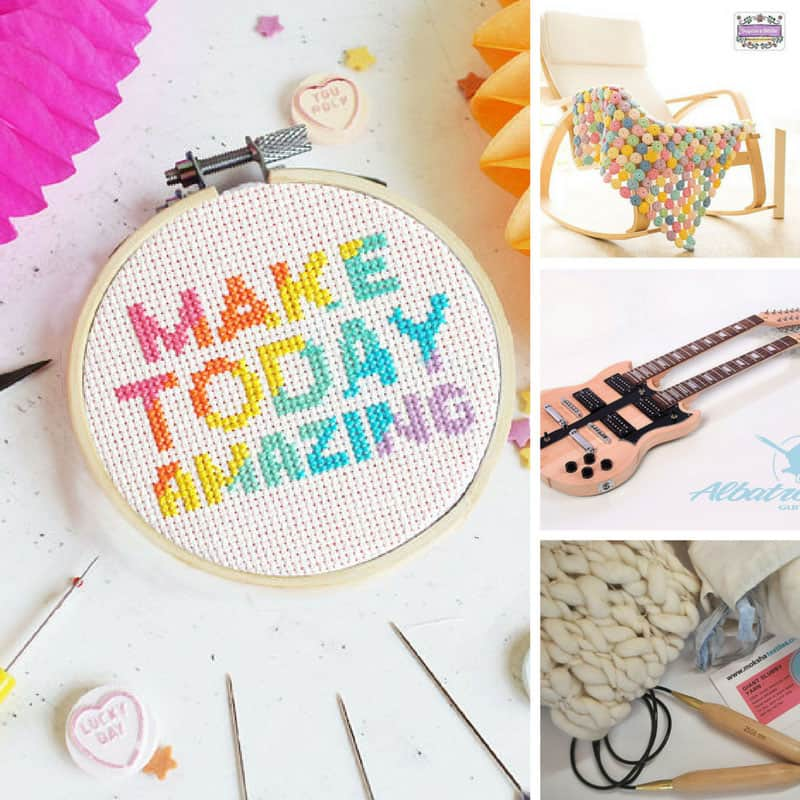 These DIY craft kits are fabulous are will make the perfect gift for my crafty friends!