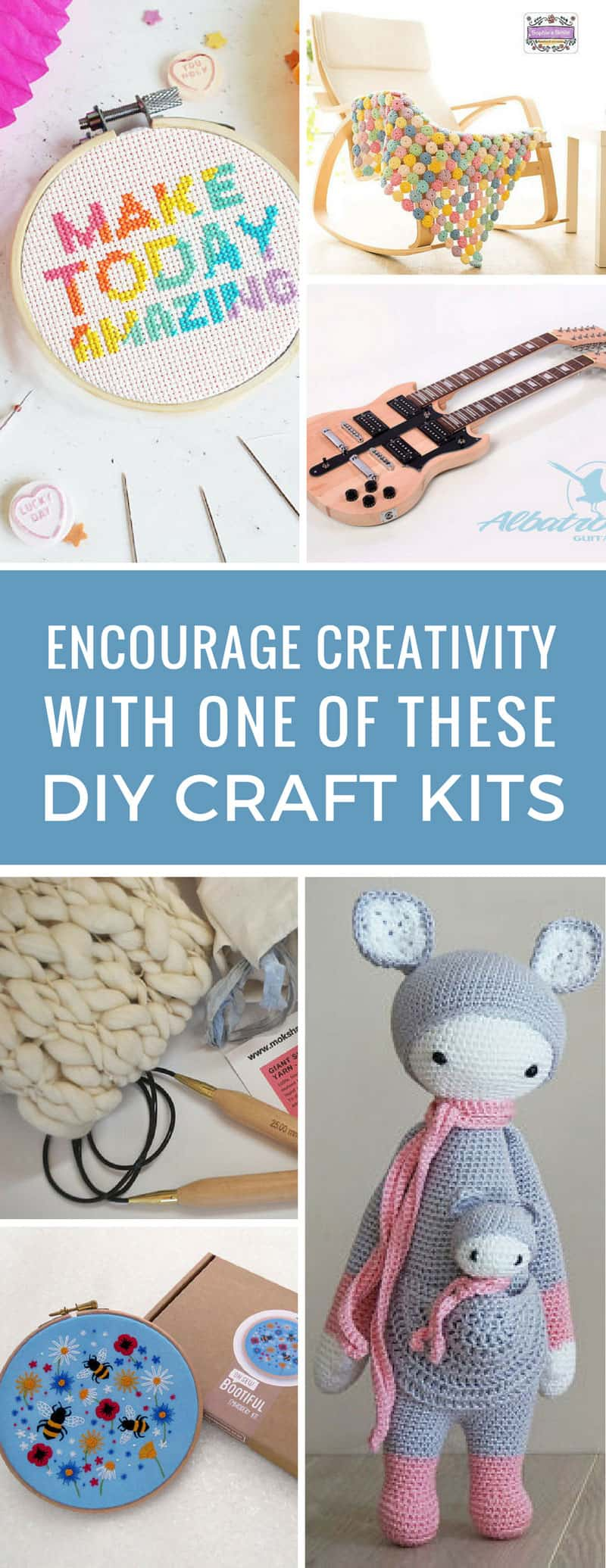 Christmas gifts for my crafty friends sorted! These DIY craft kits will get them hooked on something new! Thanks for sharing!