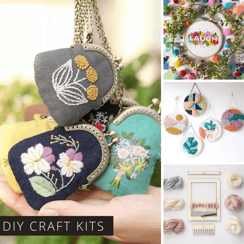 Discover a new hobby with these creative craft kits that don't come with a subscription!