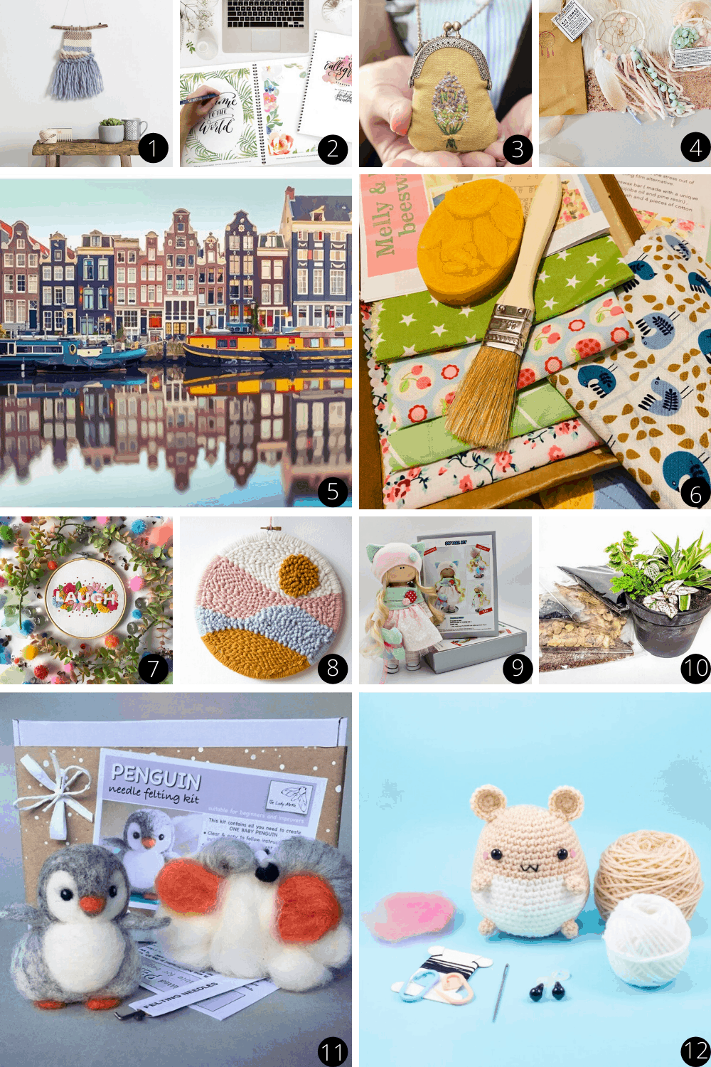 Whether you're trying to find a new hobby or searching for a gift for a friend you can't go wrong with these creative craft boxes
