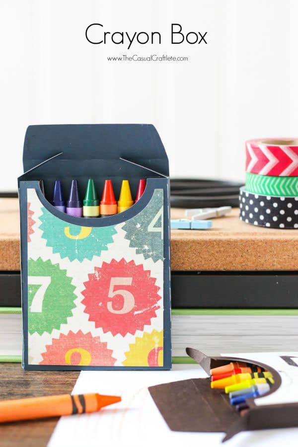 DIY Crayon Box