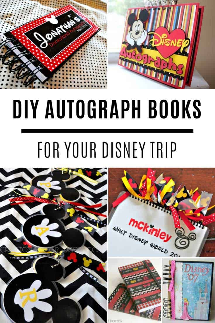 How to make autograph books for your Disney trip!