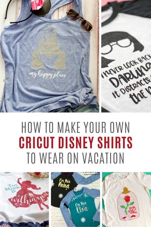 OMG these DIY Disney shirts are so stinking cute! And all with free SVG files!
