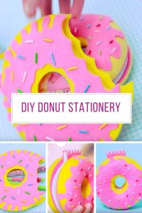 Loving these DIY donut notebooks and pencil cases! Thanks for sharing!