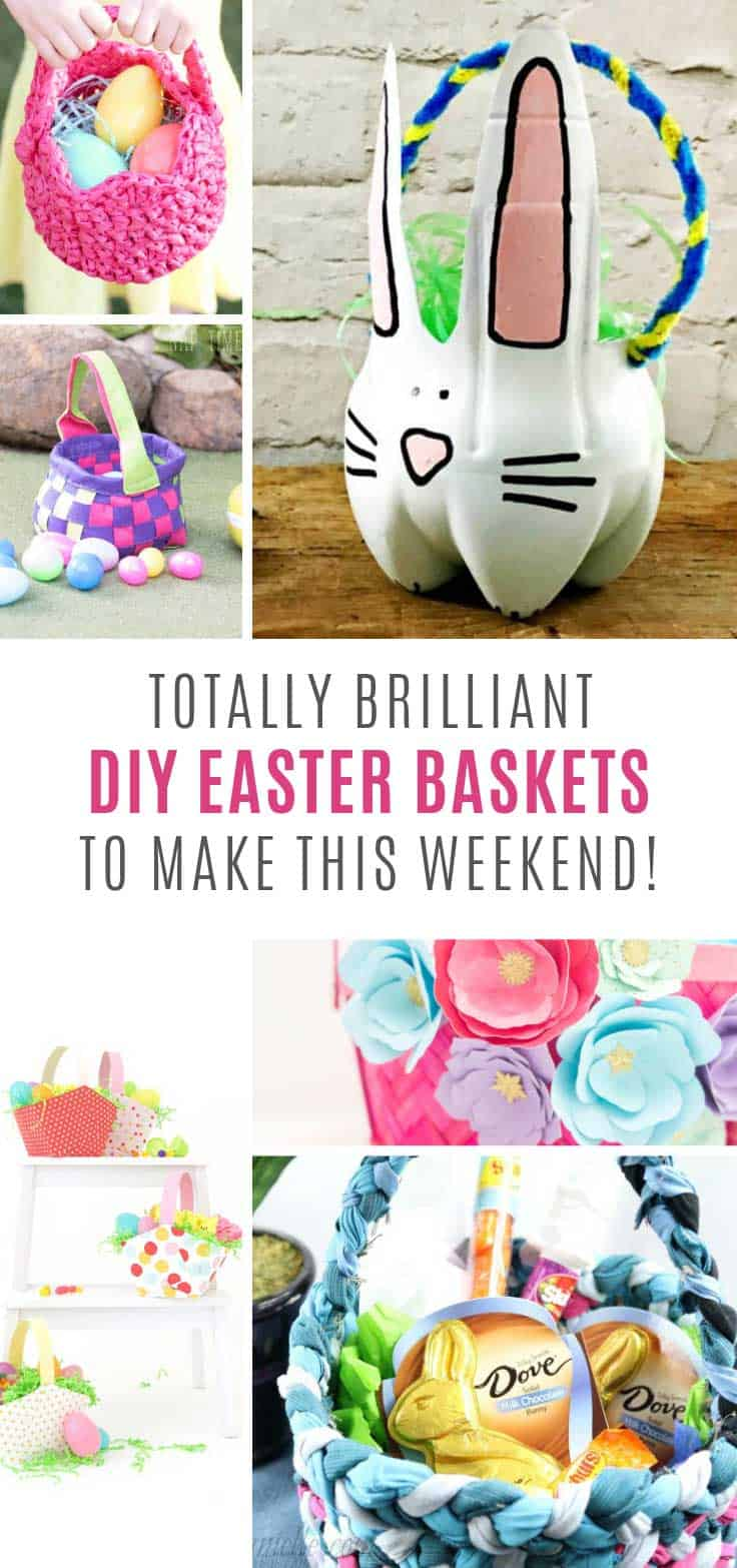 Loving these DIY Easter baskets - and your kids will too!