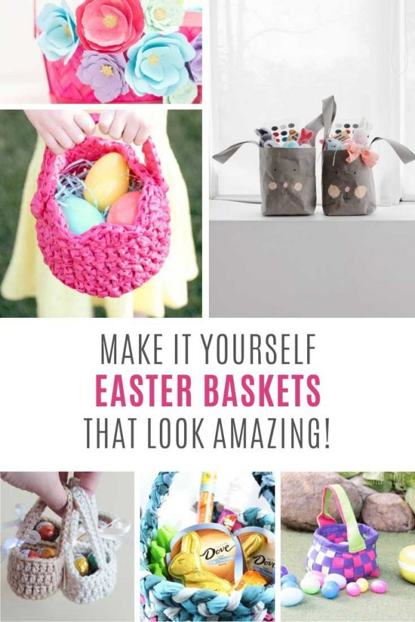 OMG How CUTE are these DIY Easter baskets!