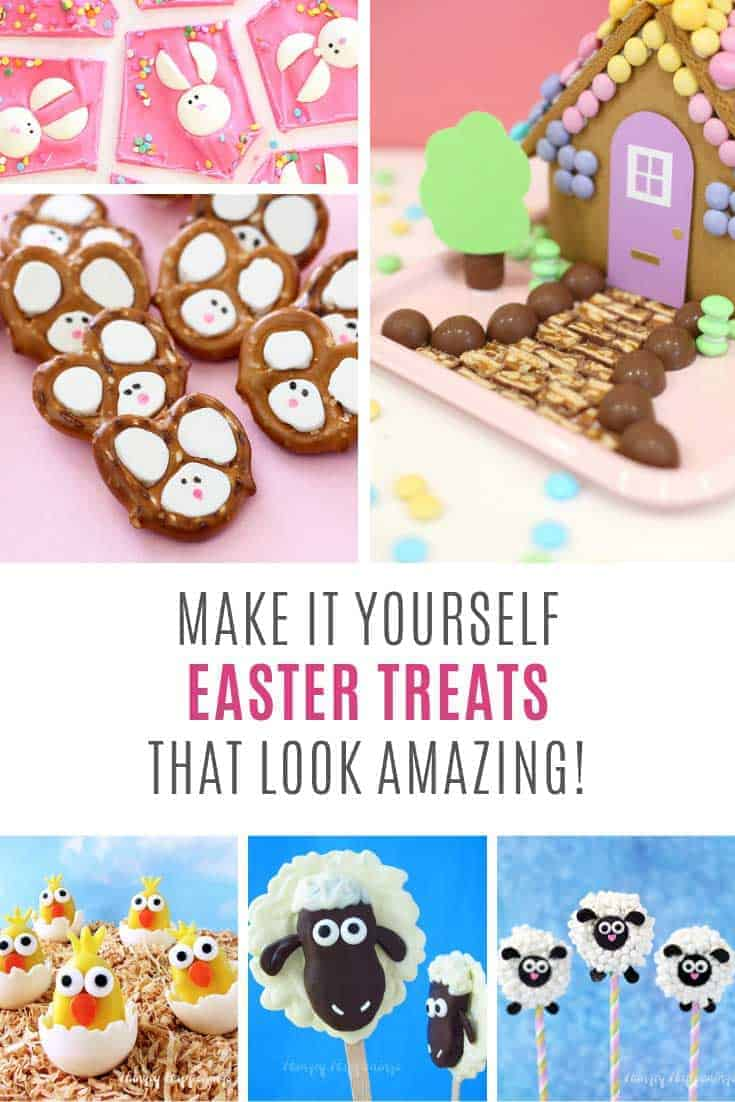 LOVING these DIY Easter treats - they look so cute!