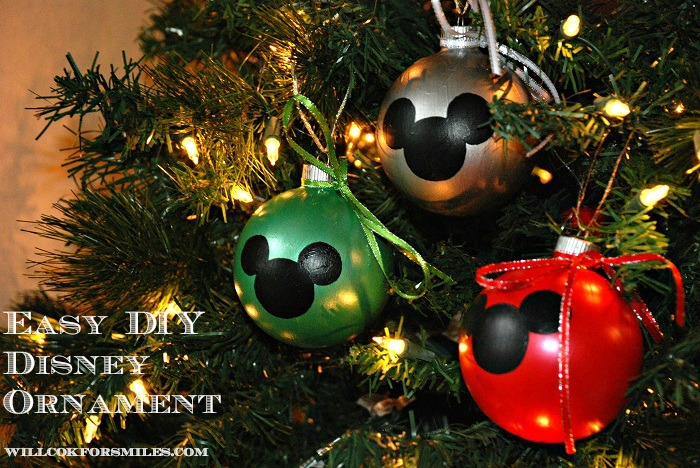 DIY Easy Disney Ornament 2ed