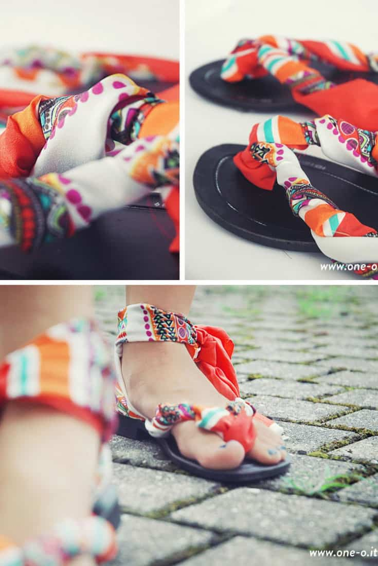 DIY Easy Summer Flip Flops