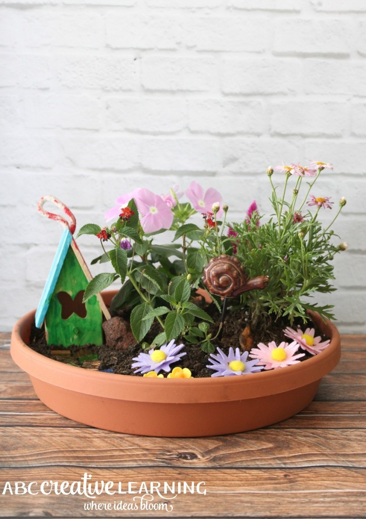 This fairy garden is fabulous!