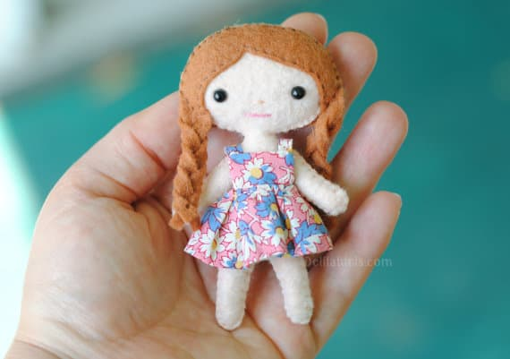 DIY Felt Doll Pattern