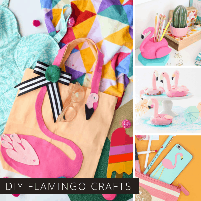 So many fabulous flamingo crafts (and even recipes) here! I love the tote bags! If you need a handmade gift idea for a flamingo lover you'll find it here!