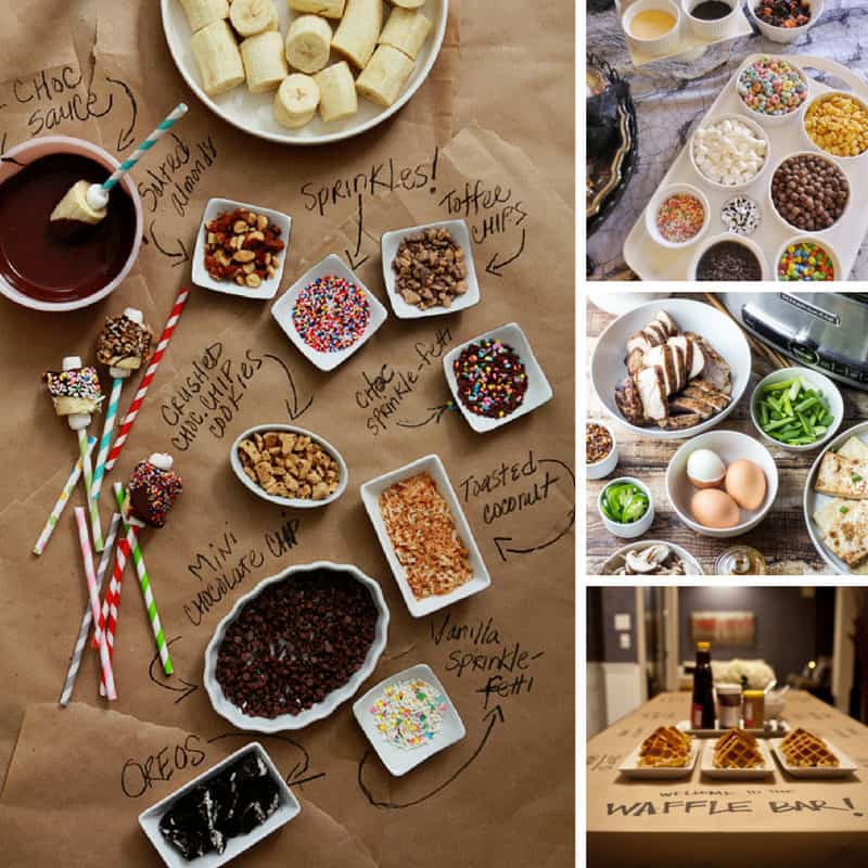 26 build your own food bar ideas perfect for parties for Food bar party ideas