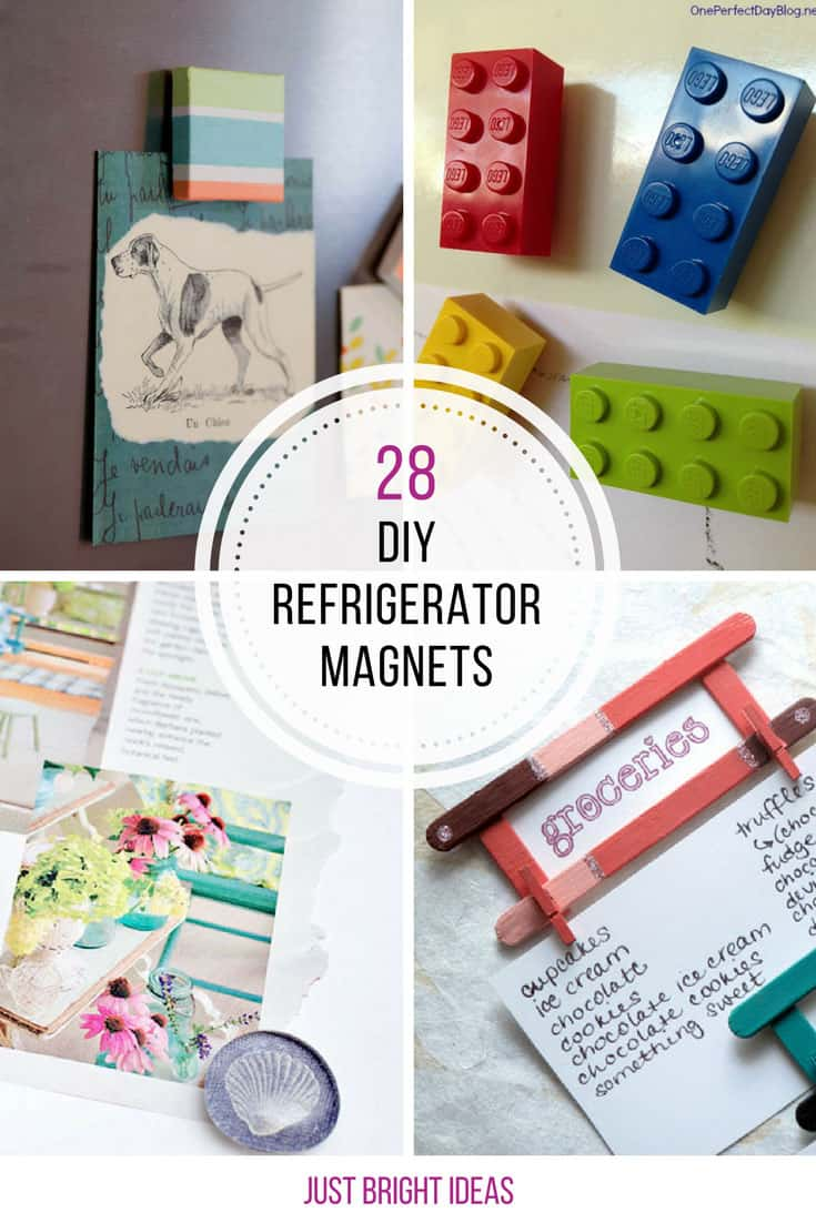 So many cute fridge magnet crafts! Thanks for sharing!
