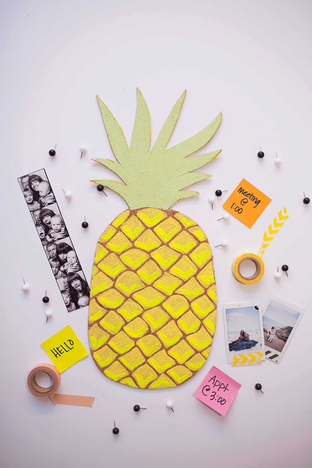 DIY Fruit Bulletin Boards