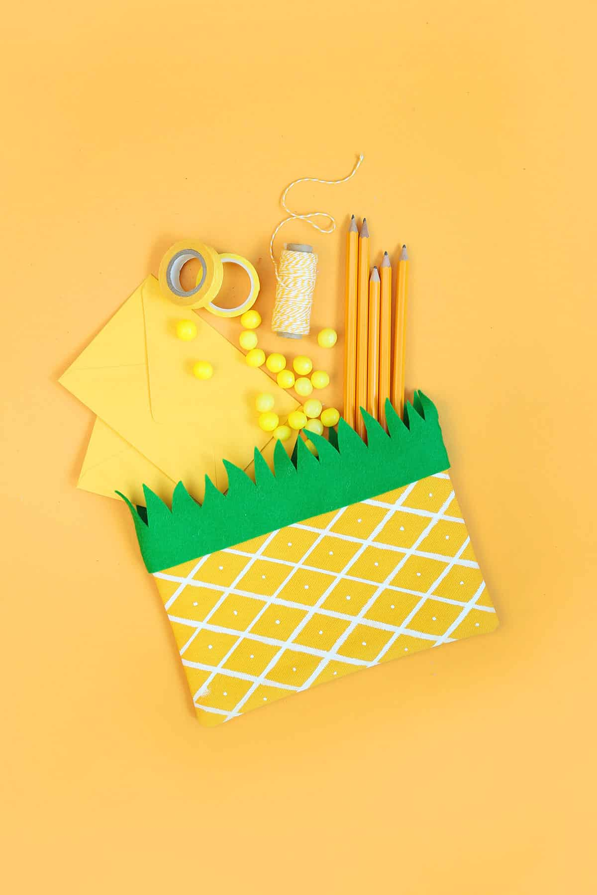 DIY Fruit Pencil Pouches