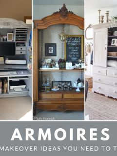 DIY Furniture Makeovers for Armoires
