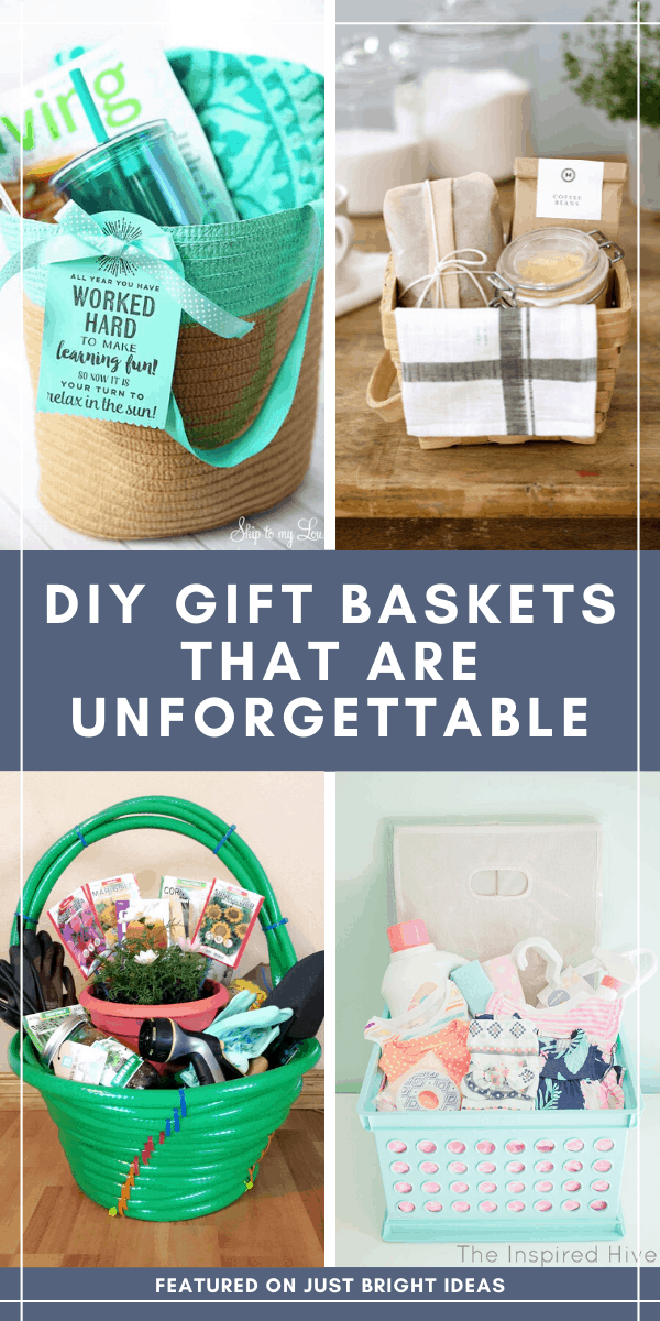 If you want to put together a truly unique gift for a friend or family member you can't go wrong with a DIY gift basket. It's the best way to put together some thoughtful and unique items to show them how much you care.