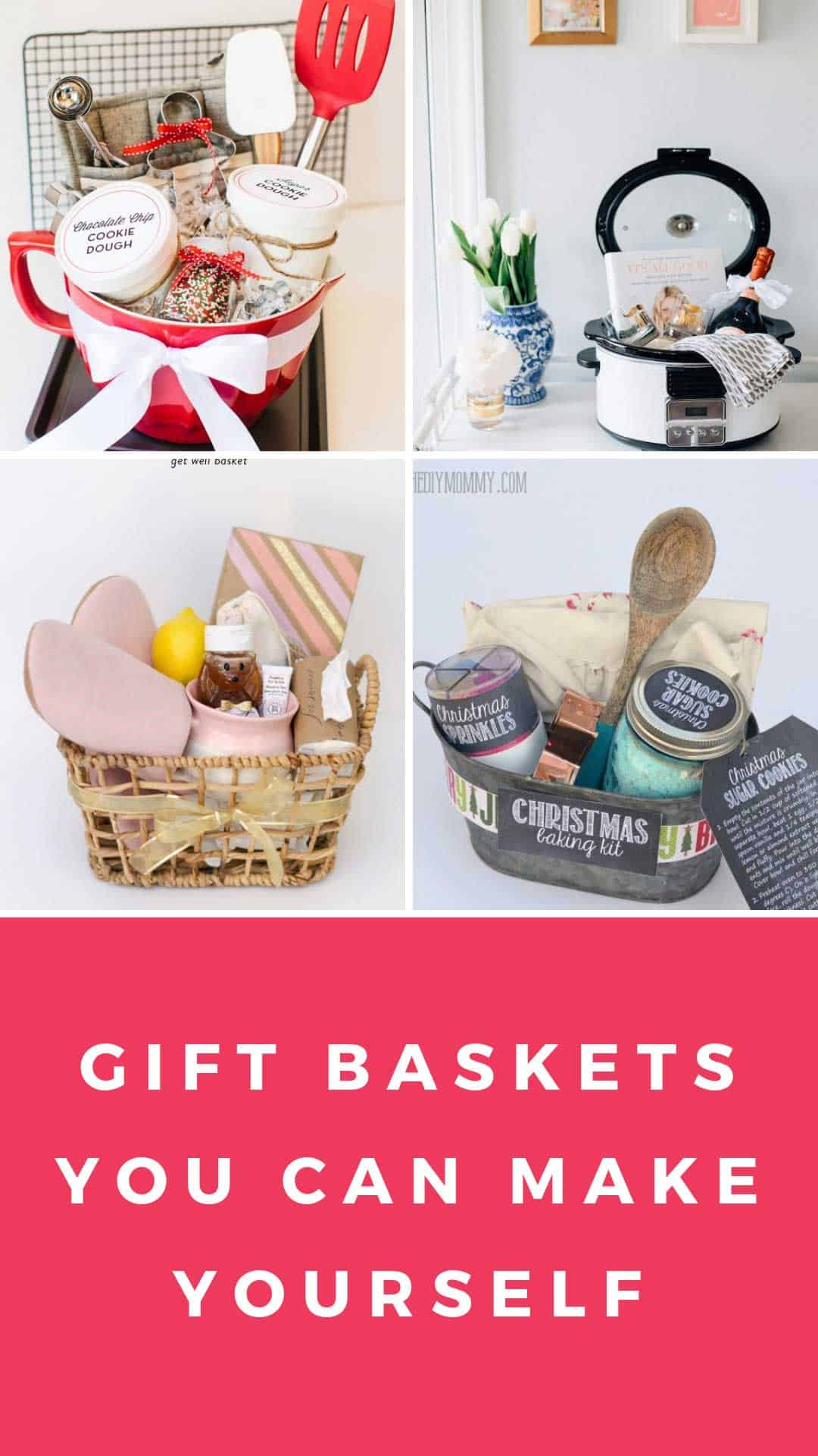 These DIY gift basket theme ideas have got you covered for baby showers, housewarmings, birthdays and any other occasion you could possibly think of! #giftbasket