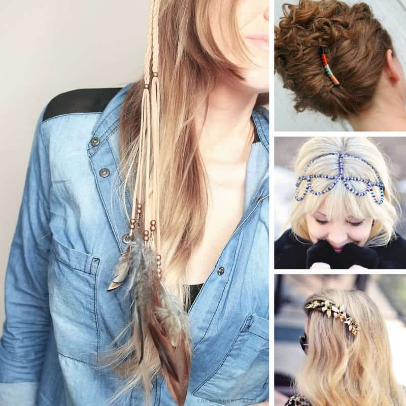 These DIY hair clips make great gifts! Thanks for sharing!