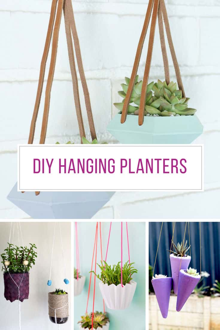 Loving these DIY hanging planter ideas! Thanks for sharing!