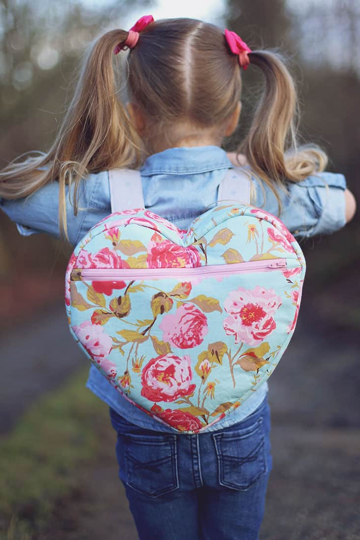 DIY Heart Backpack Pattern