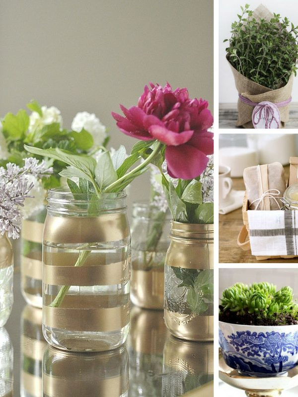 Loving these DIY hostess gift ideas - so much more thoughtful than a bunch of flowers!