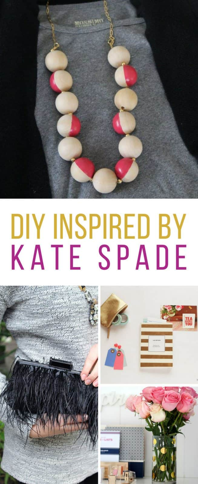 These DIY Kate Spade projects are brilliant! Thanks for sharing!
