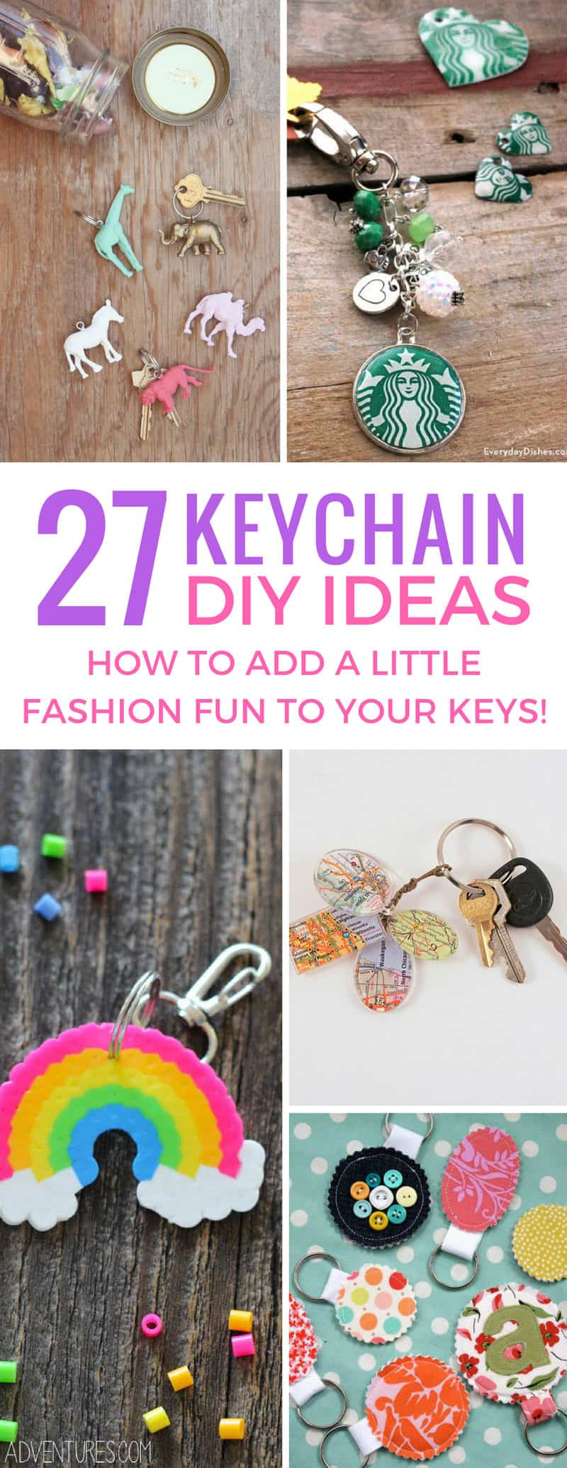 These DIY keychain ideas are brilliant - and they'll make fabulous handmade gifts for Christmas! Thanks for sharing!