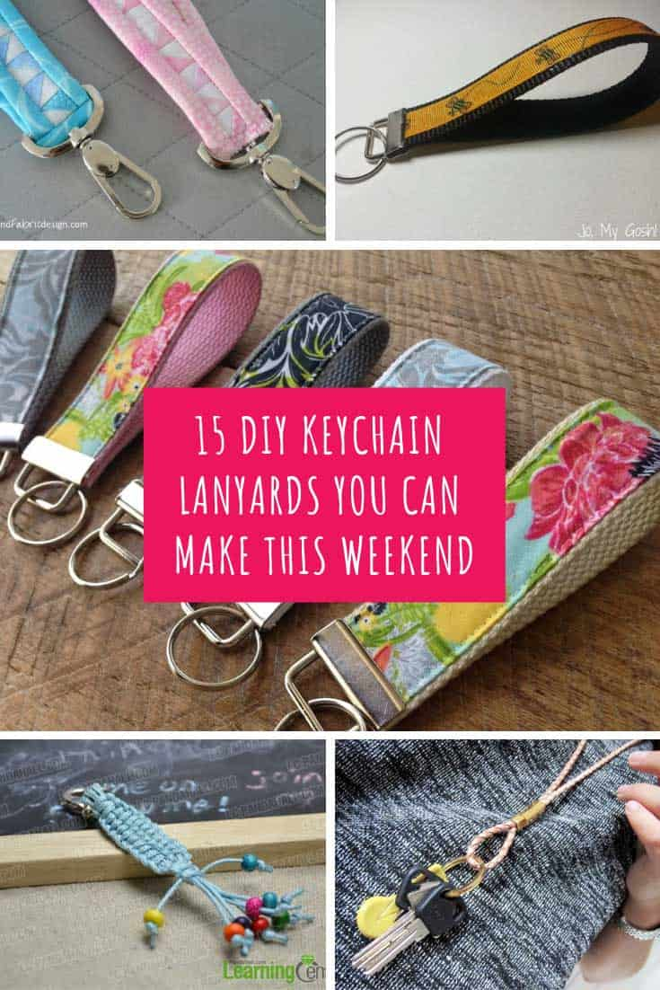 These DIY keychain lanyards are so easy to make. If you're looking for a thoughtful gift for your child's teacher then this is the list for you!