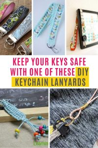 These DIY lanyard keychains are the perfect way to keep your keys safe and accessible. Perfect for teachers and nurses.