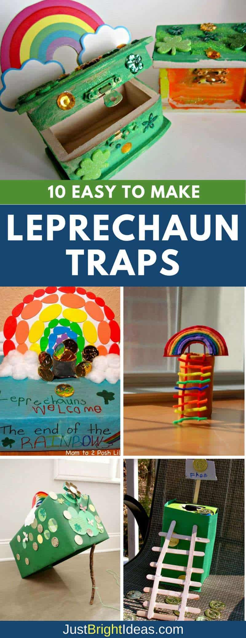 DIY Leprechaun Traps for Kids Pinterest