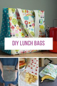 These DIY lunch bags are really cute! Thanks for sharing!