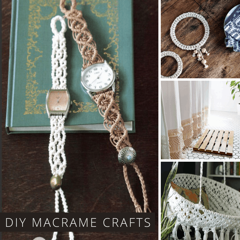 Boho Up Your Life with These Wonderful Macrame Projects