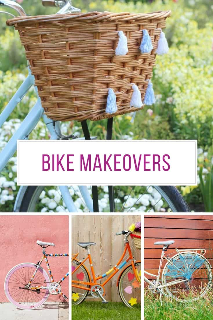 Loving these bike makeover ideas! Thanks for sharing!