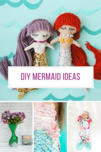 Loving these DIY mermaid ideas - especially those dolls!