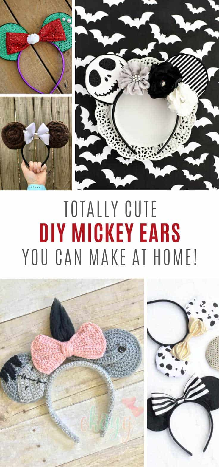 DIY Mickey ears you can make this weekend!