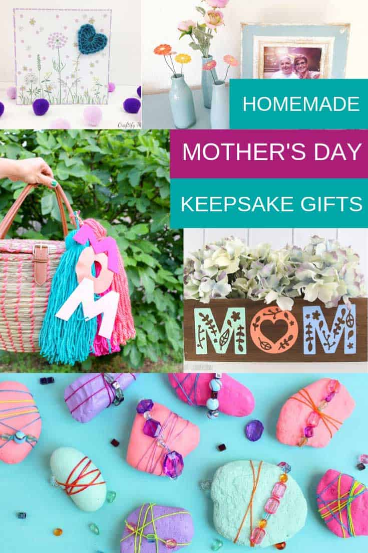 19 Mother\u002639;s Day Keepsake Crafts that are Sure to Make Mom Smile