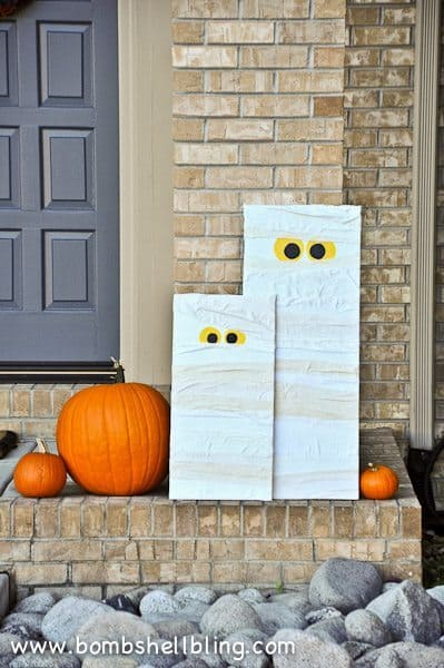 Here's a fun mummy DIY the kids can help you make